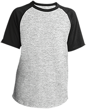 Baseball Youth SS Colorblock Raglan Jersey