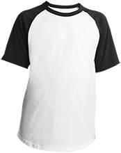 Shepherd Of The Valley Lutheran Youth SS Colorblock Raglan Jersey