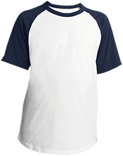 Allen High School Canaries Youth SS Colorblock Raglan Jersey