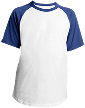Islesboro Eagles Athletics Youth SS Colorblock Raglan Jersey
