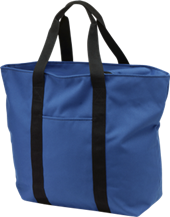 Holm Elementary School Blue Dolphins All Purpose Tote Bag